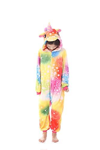 Pyjama animal en flanelle pour enfants unisexe, robe de soirée de costume de cosplay de fête...