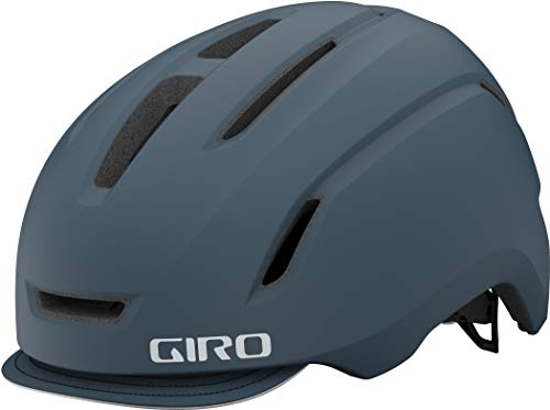 Giro Caden LED City Bicycle Helmet Portaro Grey 2021: Size: S (51-55 cm)