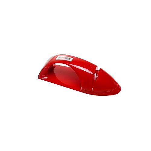 PENGHU KPSH Equipo de afilado, sacapuntas portátil para el hogar, cuchillo de cocina, cuchillo de frutas, cuchillo de cocina, fácil de usar, diseño elegante (negro/rojo/blanco) (color: rojo)