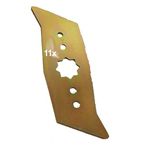 11 Vertikutierer Messer für ASGATEC EV 1100 EV 1400 EV 1700