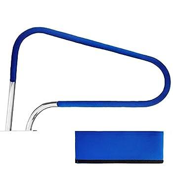 Sangen Swimming Pool Hand Rail Cover Royal Blue Pool Grips Cover Swimming Pool Anti Slip Handrails Pool Rail Covers 4 Feet