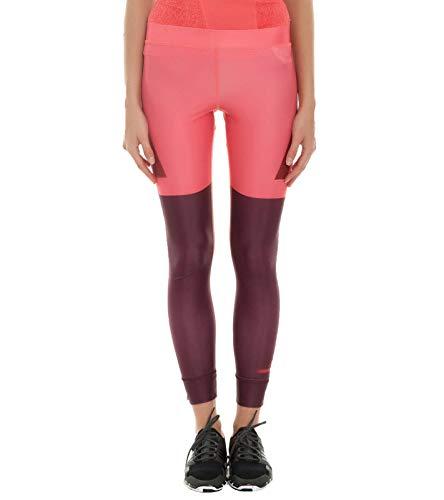 adidas x Stella McCartney Techfit Tight Flotte Crossfit-Hose Damen Leggings mit Climalite Sport-Tights Sport-Hose Rosa, Größe:XXS