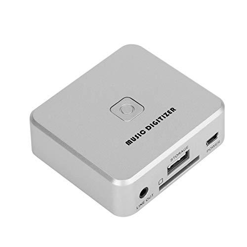 Muziek Digitizer, USB MP3 Digitizer, Mini Muziek Digitizer Speler voor Card U Disk met Indicatielampje