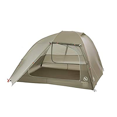 Big Agnes Copper Spur HighVolume Ultralight Backpacking and Camping Tent, 4 Person (Olive Green)