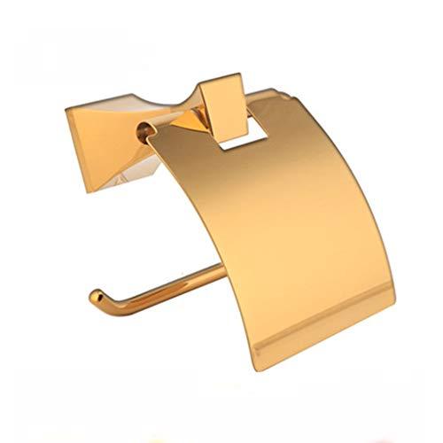 RUNWEI Papel higiénico Titular, aleación de Titanio Baño de Papel sostenedor de la Toalla 14cm * 9cm * 13.5cm