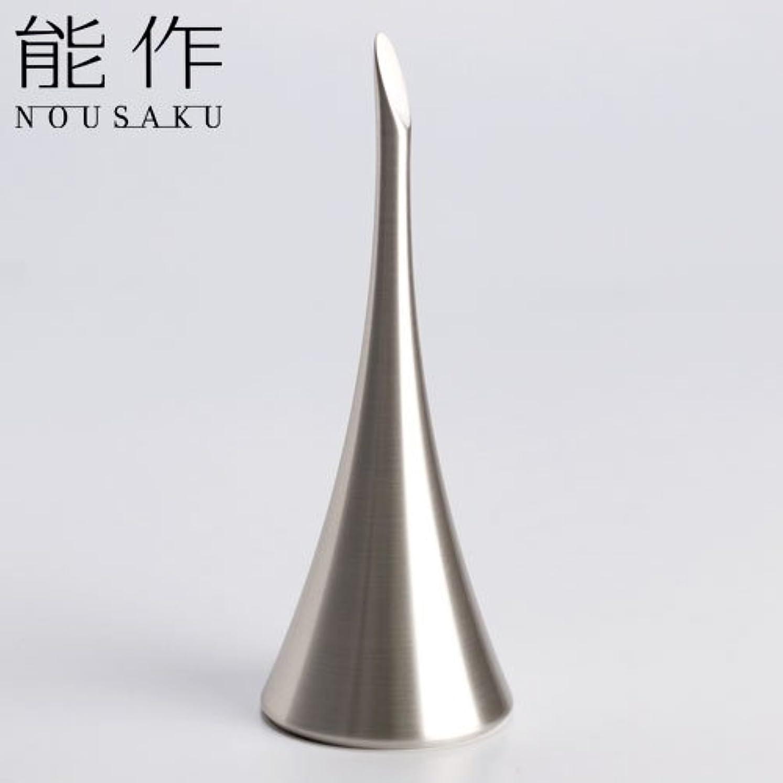 シード白いアリ能作 ベル(呼び鈴)ホルンシルバー能作真鍮製のインテリア?ホームアクセサリー卓上ベル
