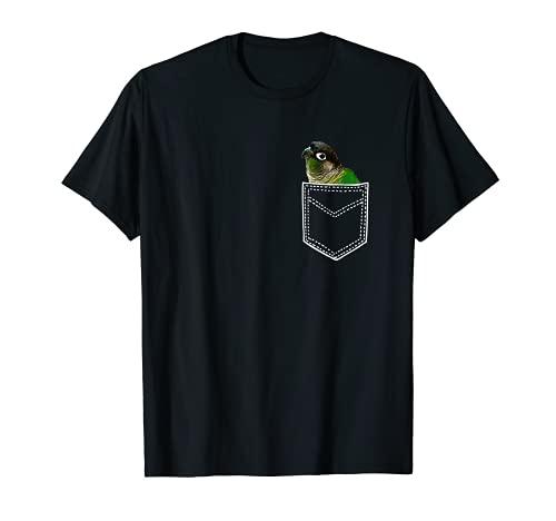 Green Cheek Conure T Shirt, Pocket Conure T-Shirt T-Shirt