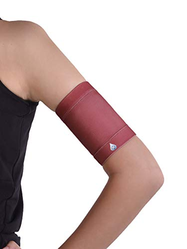 Dia-Band, Armbinde für Sensor Freestyle Libre, Medtronic, Dexcom oder Omnipod – wiederverwendbares Diabetikband. (M (27-31 cm)