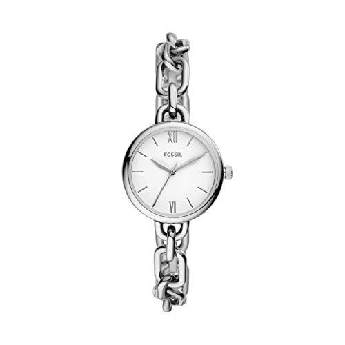 Fossil - Reloj de Cuarzo de Acero Inoxidable para Mujer BQ3544