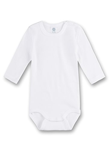 Sanetta 320700 Unisex - Baby Baby - Robe - Mixte bébé - Blanc (Weiss) - 24 Mois (Taille Fabricant: 92)