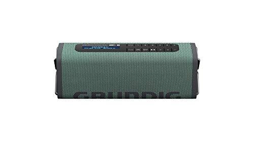 Grundig GBT Band Army Green - Bluetooth Lautsprecher mit DAB+ und UKW Radio, 30 Meter Reichweite, mehr als 8 Std. Spielzeit