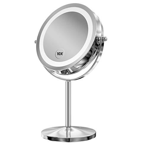 Miroir grossissant 10 x, Non Touchscreen, 10x