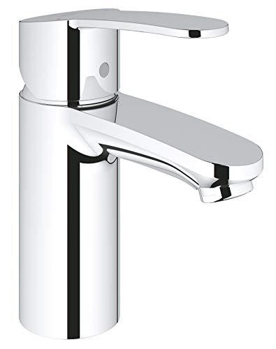 Grohe 2304200A Eurostyle Cosmopolitan Single-Handle Single-Hole Bathroom Faucet, 1.2 GPM, Starlight Chrome