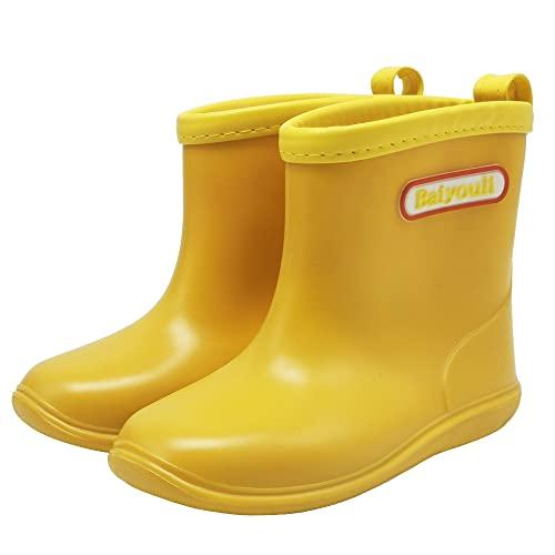 Baby Mädchen Jungen Regen Stiefel weich rutschfeste Wasserdicht Kleinkind Regen Schuhe, 14 ( 23 EU )