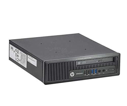 PC Ultra Slim HP EliteDesk 800 G1 USDT Core i5-4570s 3.40 GHz 16 Gb 240 GB SSD DVD-rw (RICONDITIFIZIERT)