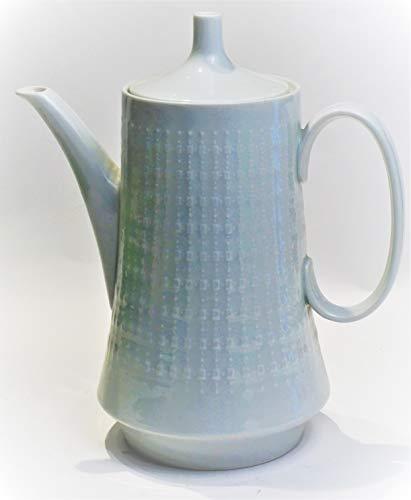 Hutschenreuther Kaffee - Teekanne, Porzellan, Weiss Selb