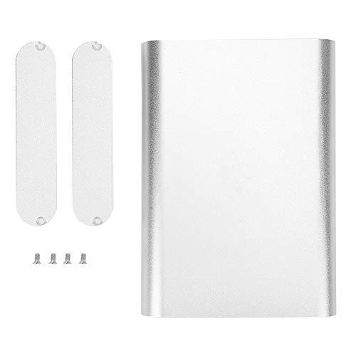 Aluminium-Projektbox - Aluminium-Projektbox Integrierte elektronische Gehäusehülle aus mattem Silber DIY Shell 26x108x150mm