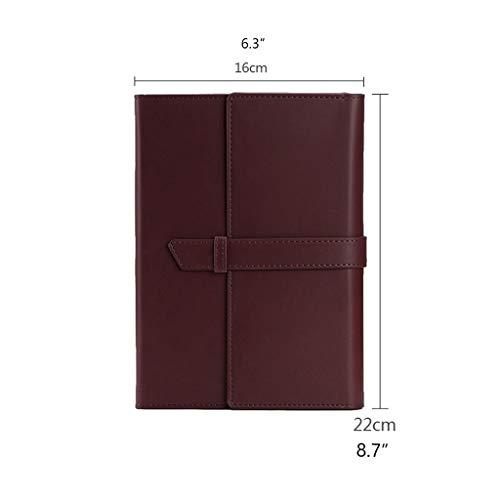 Jiji Journal Notebooks College geregelde tijdschriften geregelde harde cover, premium dik papier imitatie leer voor Journaling schrijven notebook