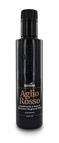 Ursini Aceite de Oliva Virgen Extra con ajo - AOVE Italiano Gourmet - 250 ml