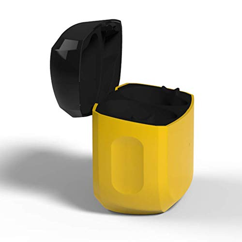 Charging Case Compatible with Jabra Elite 65t and Jabra Elite Active 65t, Replacement Charger Dock Cradle Case Cover for Jabra Elite 65t / Active 65t Wireless Earbuds (Yellow)
