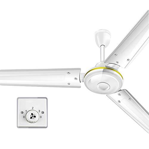 JYHW Ventilador de Techo Control de Velocidad Silencio Viento Grande Sala de Estar Restaurante Dormitorio Fábrica Ventilador eléctrico Industrial 56 Pulgadas Hogar Hoja de Hierro
