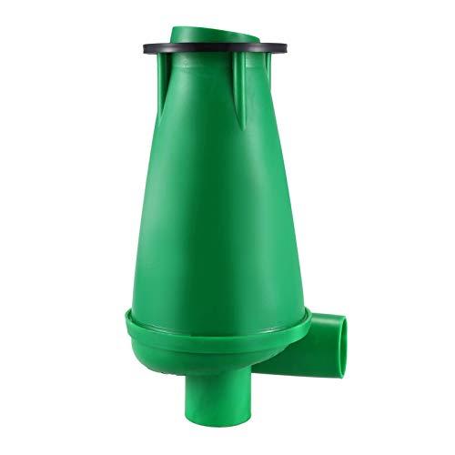YBINGA Cyclone SN50T3 - Extractor industrial, colector de polvo para carpintería, aspiradora de separación de polvo, Turbo con brida (color: verde)