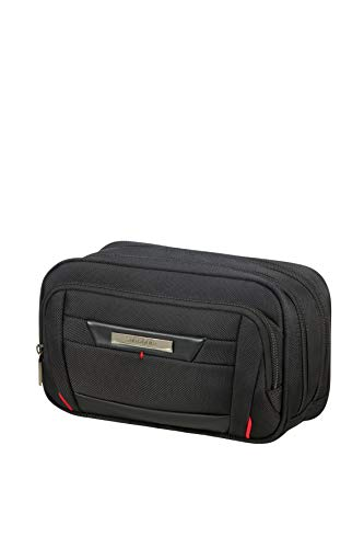 SAMSONITE Pro-DLX5 Cosmetic Cases - Horizontal Kulturtasche, 24 cm, Black