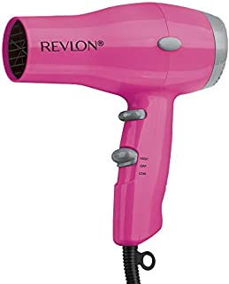 Revlon 1875W Compact And Lightweight IONIC Hair Dryer, Pink