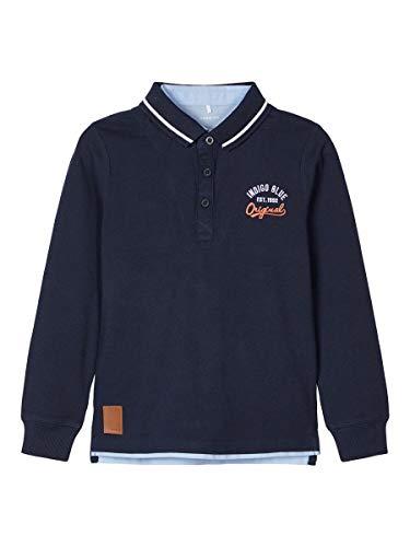 NAME IT Boy Poloshirt Baumwoll 158-164Dark Sapphire