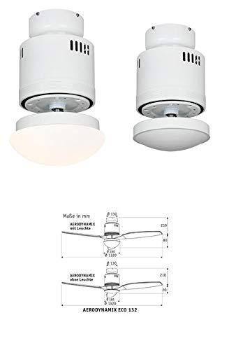 Unbekannt AERODYNAMIX Eco We - Motore per Ventilatore a soffitto Senza Ali