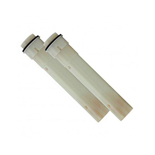 SAFETY 2 x Membranfiltereinsatz Ersatzfilter für Anti Legionellen Duschkopf Chrom mit Filter, Handbrause Handduschkopf