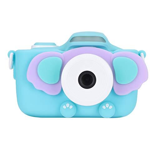 Cámara para niños, pequeña cámara digital multifunción 3.0 pulgadas WIFI regalo para niños para tomar fotos(blue)