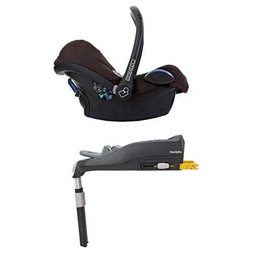 Maxi-Cosi Cabriofix, Babyschale Gruppe 0+ (0-13 kg), earth brown, mit Isofix-Station