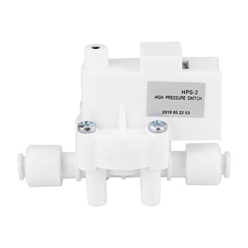 0.25MPa DC 24V tanque de ósmosis inversa interruptor de alta presión 1/4'para purificador de agua para bomba RO Water Fitlers para dispensador de agua