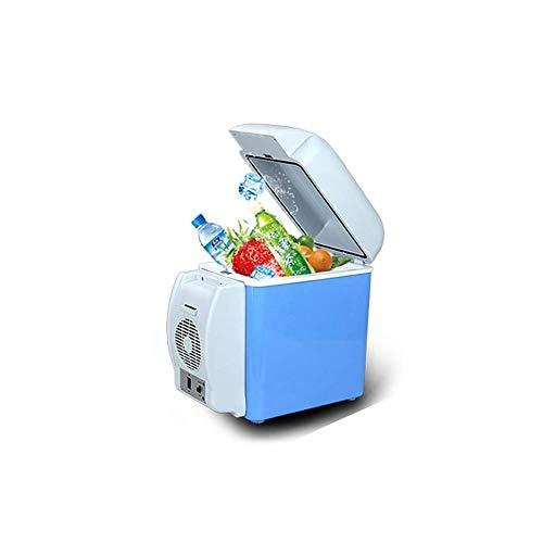 Portable Mini koelkast 12v 220v, Electric Cool Box Car koelkast, 8L Temperature Control een warm en koud for tweeërlei gebruik Geschikt for Auto Met Thuis (Kleur: A-2) LOLDF1