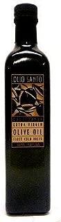 Olio Santo California Extra Virgin Olive Oil - First Cold Press - 16.9 oz (2 Bottles) by Olio Santo