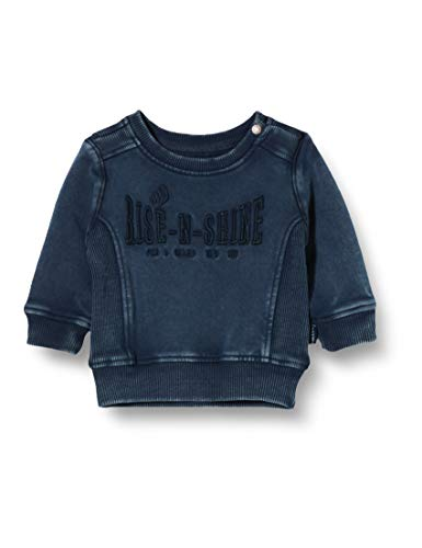 Noppies Baby-Jungen B Sweater LS Wolseley Sweatshirt, Dark Sapphire-P208, 68