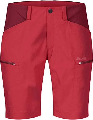 Bergans Utne Shorts Damen fire red/red Größe XL 2020 Hose kurz