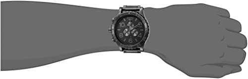 Nixon 51-30 Chrono. 100m Water Resistant Men's Watch (XL 51mm Watch Face/ 25mm Stainless Steel Band) WeeklyReviewer