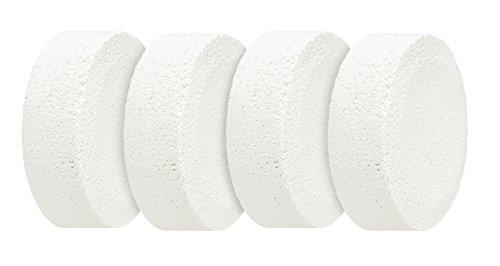 WENKO 50210100 Feuchtigkeitskiller Nachfüllpack, Luftentfeuchter, 4 x 250 g, Calciumchlorid