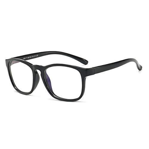 Kids Blue Light Blocking Glasses for Boys and Girls Age 3-12 Protect Eyestrain