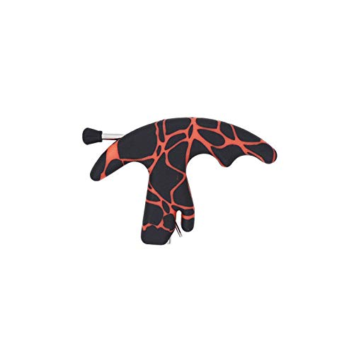 Three Finger Thumb Strong A1 Plastic Archery Release Aid Compound Bow Hunting Release Aid (red)