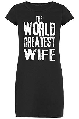 TITAGU Ehefrauen-Sprüche-Nachthemd-Schlafshirt Damen/Bekleidung Thema Familie: The World Greatest Wife