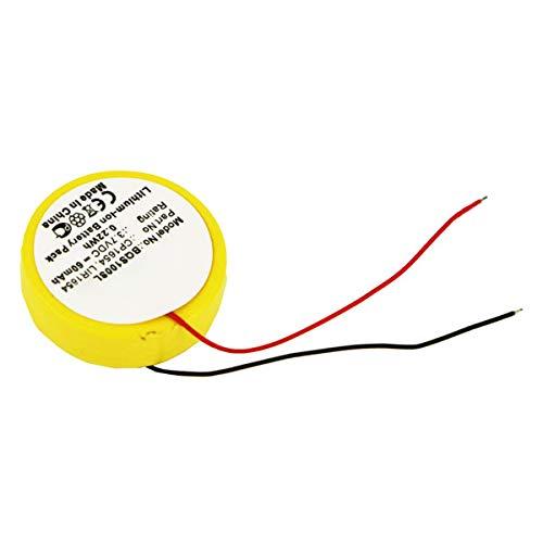 subtel® Batteria Premium Compatibile con Bose SoundSport Pulse, SoundSport Wireless, CP1654, LIR1654 60mAh accu Ricambio Sostituzione