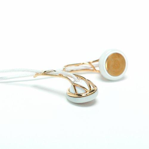 Frends Women's Line The Ella In-ear oordopjes wit/goud