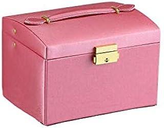 صندوق لتعبئة المجوهرات مثل القلادات والاقراط، منظم للمجوهرات ومستحضرات التجميل، يمكن تقديمها لهدية عيد الميلاد للنساء
