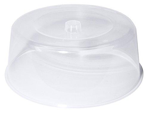 Tortenhaube, transparent, aus weich-elastischem Polypropylen, bruchfest, hohe Form, stapelbar/Ø dia. 30 oder 33 cm | ERK (A1 - Ø dia. 30 cm)