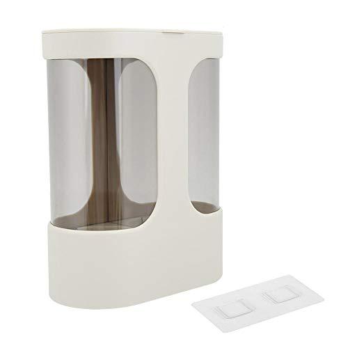 AUNMAS Dispensador Portavasos Agua Transparente desechable Estante de Almacenamiento automático de Vasos Estante(1#)
