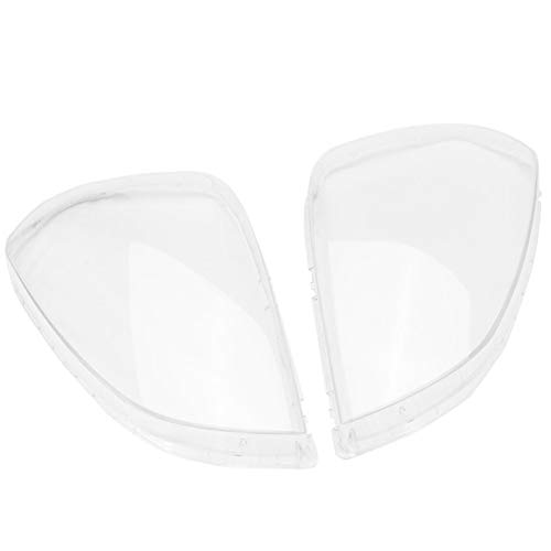 1Pair Auto Clear Headlight Koplamp Lamp Lens Cover Head Light Lamp Cover for de Hyundai Tucson 2005-2009 (Color : White)
