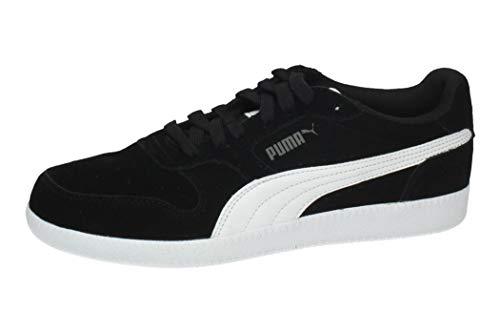 PUMA ICRA Trainer SD, Zapatillas Unisex-Adulto, Negro (Black/White), 42 EU